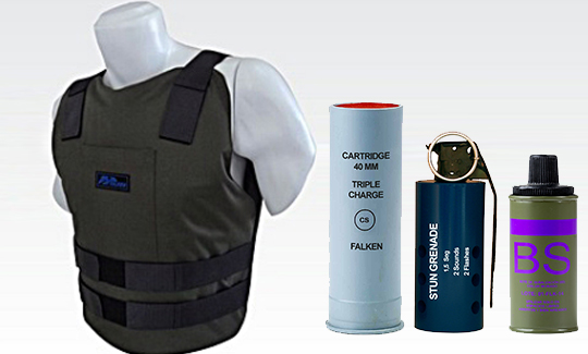 Falken Equipments Bulletproof vests